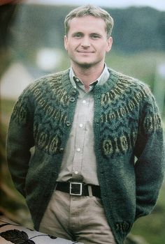 A classic lopi sweater, via Flickr.