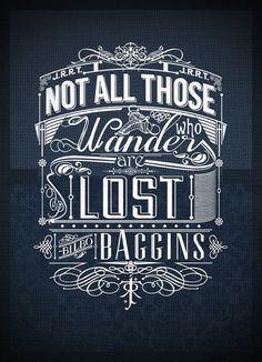 Love all the beautiful design around the quote and the mixed fonts