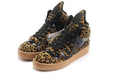 cheap for discount 1bd6d bdddf Latest Listing Discount Girl Adidas X Jeremy Scott Big Tongue Leopard Shoes  Sports Shoes Store
