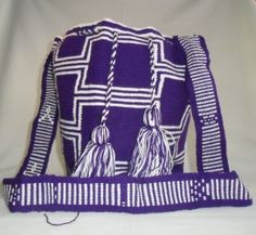 """$130 including shipping from Colombia to USA. Other countries ask in the comments section   Handmade """"mochila"""". Made by natives in Colombia   Buy Wayúu Mochilas in www.artemalu.com   Compra Mochilas Wayúu en www.artemalu.com"""