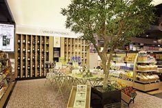Aélia | nouveau concept Marseille, mobilier mural Provence | Groupe Lindera Retail, Table Decorations, Brown, Furniture, Home Decor, Group, Store, Marseille, Decoration Home