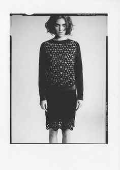 Arizona Muse photographed by Paolo Roversi.  Photos courtesy of Piece d' Anarchive