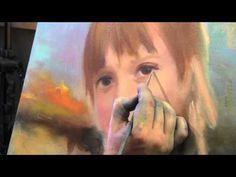 """НОВЫЙ ФОРМАТ ВИДЕОУРОКОВ! Игорь Сахаров """" Портрет девочки"""" - YouTube"""