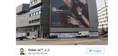 Seit kurzem ziert ein etwa 1.000m² großes Werbeplakat von Huawei ein Bürogebäude in Berlin Mitte, auf dem das Technikunternehmen Werbung für die neue Huawei...