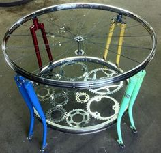 Biek Art Table. Would you put this in your living room?