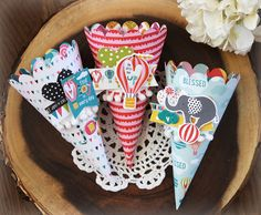 Illustrated Faith | Delight in His Day Collection | Cotton Candy Cones by Laurie Schmidlin