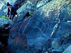 Petroglyphs along the west coast #sooke #canada #victoria
