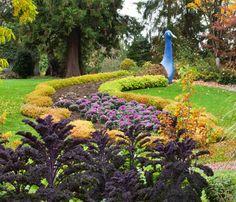 Peacock at Minter Gardens