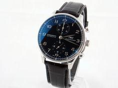 IWC Portuguese Chronograph Black