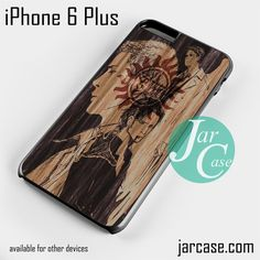 supernatural anime art Phone case for iPhone 6 Plus and other iPhone devices