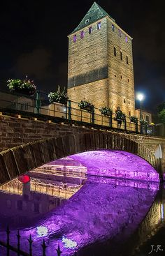 Ponts Couverts - Petite France - #Strasbourg - #Alsace - France Mai / May 2014
