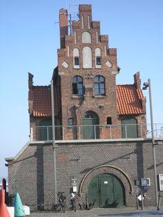 Lotsenhaus im Stralsunder Hafen