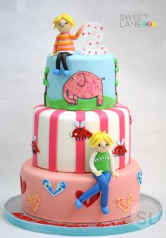 Charlie and Lola Cake from Sweet Lane