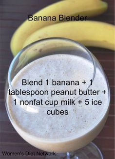 100 Days of Smoothies: 4/100 Banana Blender