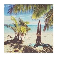 Handstands.
