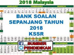 Koleksi Bank Soalan Sepanjang Tahun 2018 KSSR