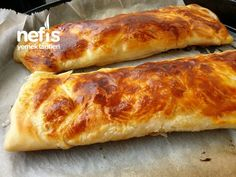 Sadece Süt Ve Unla Katmer – Nefis Yemek Tarifleri Hot Dog Buns, Hot Dogs, Kefir, Food And Drink, Canning, Breakfast, Recipes, Allah, Turkish Language