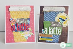 """Teacher Appreciation Cards by @wendysuea for @pebblesinc with the """"Home Grown"""" and """"Happy Day"""" collections"""