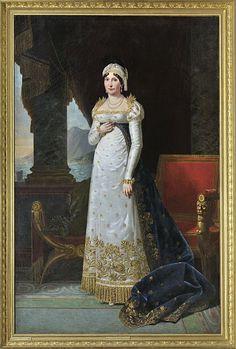Maria Letizia Buonaparte née Ramolino (24 August 1750 – 2 February 1836) was the mother of Napoleon I of France. She was born in Ajaccio, Corsica, to Nobile Giovanni Geronimo Ramolino  1723 – 1755), Captain of Corse Regiments of Chivalry  and wife Nobile Angela Maria Pietrasanta (circa 1725–1790).  Letizia was not formally educated.  On 2/7 June 1764, when she was 13, she married attorney Carlo Buonaparte at Ajaccio. She bore 13 children, eight of whom survived infancy