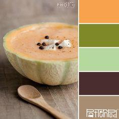 Cantaloupe #patternpod #patternpodcolor #color