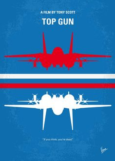 No128+My+TOP+GUN+minimal+movie+poster  As+students+at+the+Navy's+elite+fighter+weapons+school+compete+to+be+best+in+the+class,+one+daring+young+flyer+learns+a+few+things+from+a+civilian+instructor+that+are+not+taught+in+the+classroom.  Director:+Tony+Scott Stars:+Tom+Cruise,+Tim+Robbins,+Kelly+McGillis  Storyline Maverick+is+a+hot+pilot.+When+he+encounters+a+pair+of+MiGs+over+the+Persian+Gulf,+his+wingman+is+clearly+outflown+and+freaks.