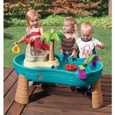 Water Table Splish Splash Seas Kids Toddler Summer Activity Outdoor Play Center #Step2