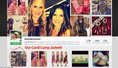 Jennifer Rand of Belle de Couture rocks our Cardi Camp Jacket here!