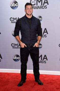 Celebrities the CMA Awards 2014   POPSUGAR Celebrity, Tim Tebow