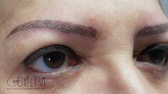 Reprodução total das sobrancelhas com a técnica Microblading❗️ Semi Permanente, Eyebrows