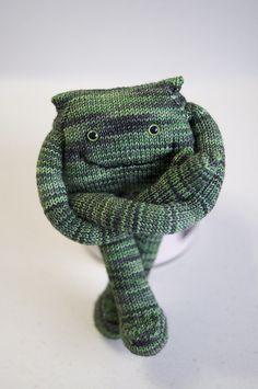 Sock monster! he is so darn cute
