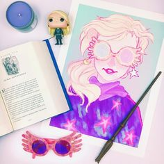 """♡ Kristin ♡ on Instagram: """"My favorite character from Harry Potter will always be Luna Lovegood. I love how she has always embraced her true self from a very young…"""""""