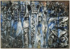 Richard Pousette-Dart 'East River Studio' Luhring Augustine Gallery | Thoughts That Cure Radically