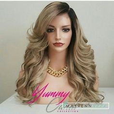 It's wig Wednesday!  This wig was made using 613 Indian Blonde hair which was custom colored Ash blonde.  Come shop my online store and see what we have to offer. https://stizzy.mayvenn.com