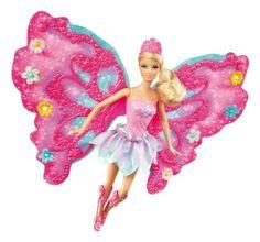 Barbie Fairies and Mermaids: Flower n' Flutter Fairy Barbie Doll: