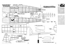 Vultee Vanguard  - plan thumbnail Balsa Wood Models, Partitions, Rc Model, Vintage Models, Model Airplanes, Paper Models, Gliders, Boats, Aircraft