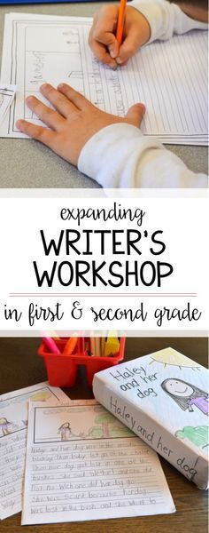 How do you teach writer's workshop in your first and second grade classroom? This post explains how to get your writer's to expand their learning through fun activities and lessons that even have them writing chapter books by the end! So many great ideas! Writing Prompts For Kids, Cool Writing, Writing Lessons, Kids Writing, Teaching Writing, Writing Activities, Fun Activities, Teaching Ideas, Writing Ideas