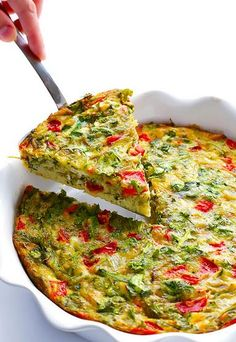 dat is … frittata A quiche without dough; that is … frittata Vegetarian Recipes, Cooking Recipes, Healthy Recipes, Simple Recipes, Brunch Recipes, Breakfast Recipes, Breakfast And Brunch, Breakfast Quiche, Vegan Breakfast Casserole