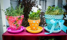 Home & Family - Tips & Products - Cristinas Pretty Terra-Cotta Pots Home And Family Crafts, Home And Family Tv, Home And Family Hallmark, Hallmark Homes, Home Crafts, Decor Crafts, Fun Crafts, Crafts For Kids, Diy And Crafts