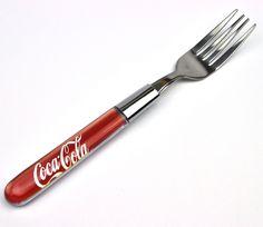 Coca-Cola Coca Cola USA Maniglia mit Logo Progettazione Posate - Forchetta…