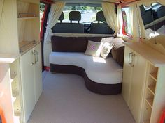 >>Look at the webpage to learn more on safest minivan. Click the link for more i… - Van Life Transit Camper, Ford Transit, Converted Vans, Bed In Corner, Mini Camper, T4 Camper, Minivan Camping, Kombi Home, Vw T4