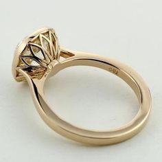 Bezel set ring