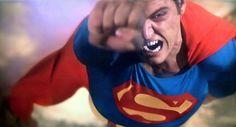 Christopher Reeve as Superman First Superman, Supergirl Superman, Best Superhero Movies, Superman Movies, Dc Comics Characters, Dc Comics Art, Christopher Reeve Superman, Action Comics 1, Travel Movies