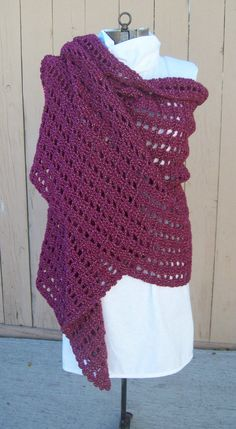 Mother's Day SALE on this lovely Shawl by IdasBrooklynBarn on Etsy, $48.00