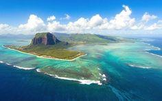 .La spettacolare Cascata subacquea delle Mauritius #Viaggi