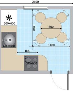 Как разместить мебель на кухне, если пространство не позволяет воплотить самые интересные идеи? Советы дизайнера помогут сделать комфортной и функциональной кухню, площадь которой составляет всего 6 квадратных метров.