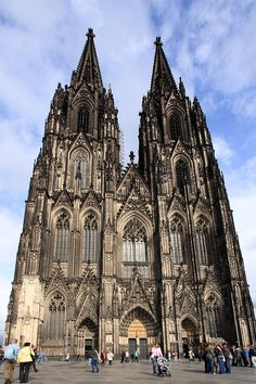 Kölner Dom in Köln, Germany. The square around ths church is one of the happiest and most exciting places I have been.  I want to go back so I can climb to the top!