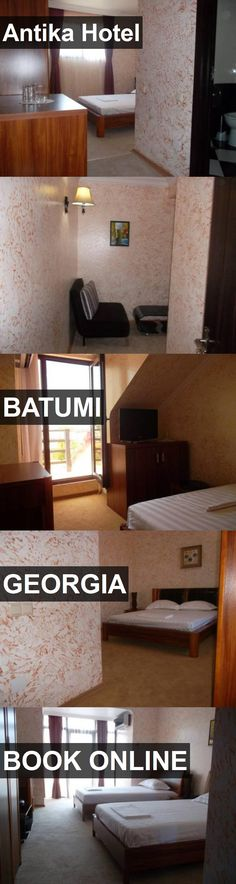 Antika Hotel in Batumi, Georgia. For more information, photos, reviews and best prices please follow the link. #Georgia #Batumi #travel #vacation #hotel