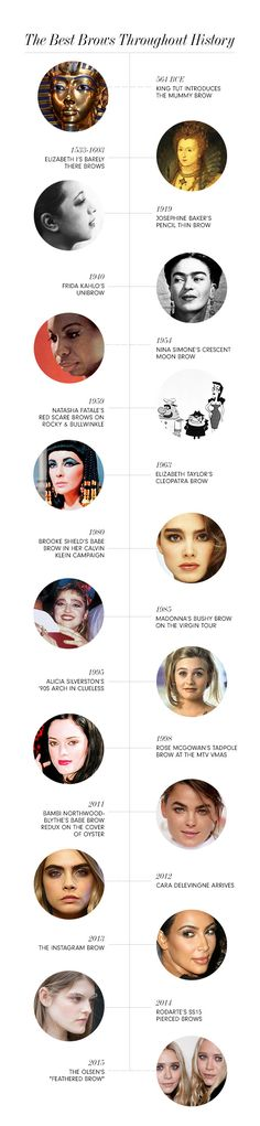 The Big Brow Timeline