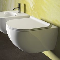 Giro contemporary wall hng toilet