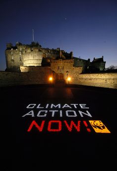 Edinburgh celebrates Earth Hour
